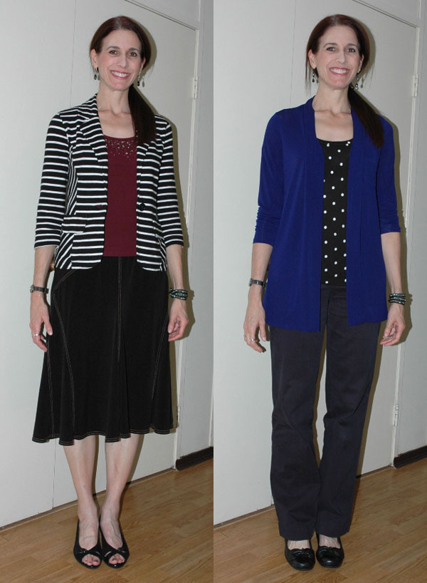 Project 333 Week One Outfits 1 and 2