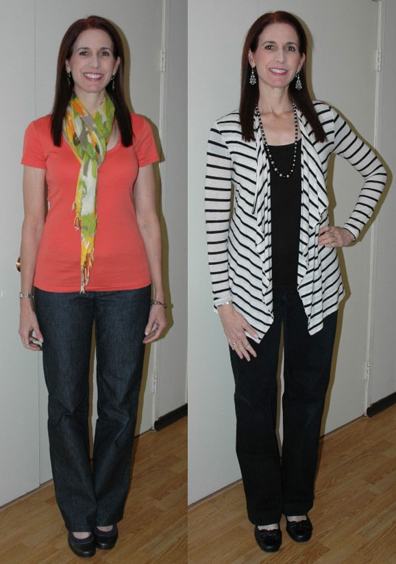 Project 333 Week Two Outfits 1 & 2