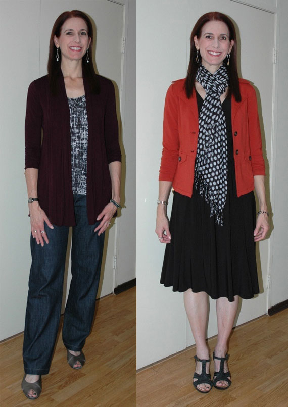 Project 333 Week Two Outfits 3 & 4