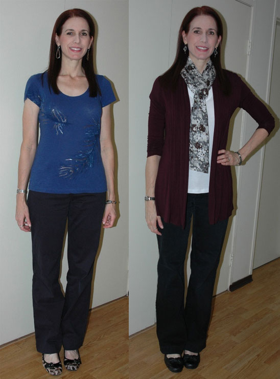 Project 333 Week Two Outfits 5 & 6