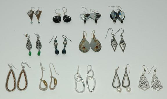 Earrings Worn - April 2013