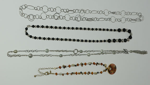 Necklaces Worn - April 2013