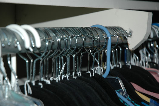 """wardrobe tracking - """"hanger trick"""""""