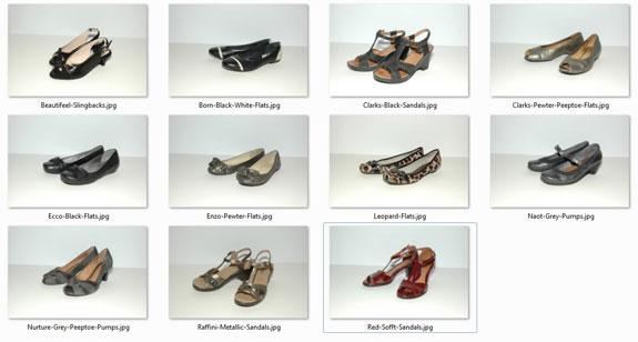 Shoes Worn - April 2013