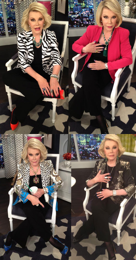 Uniform Dressing - Joan Rivers