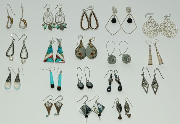 Project 333 - Earrings Worn During May 2013