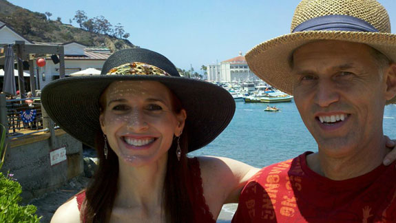 Debbie and Mike Roes in Avalon
