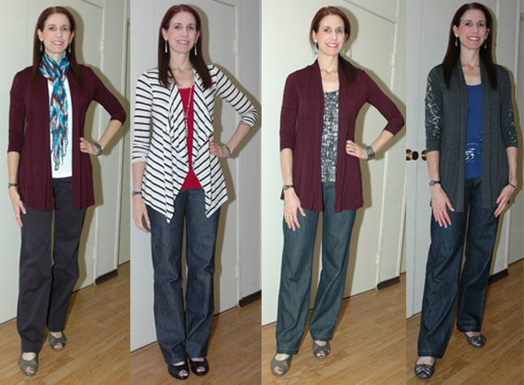 Project 333 Favorite Pants Outfits 5-8