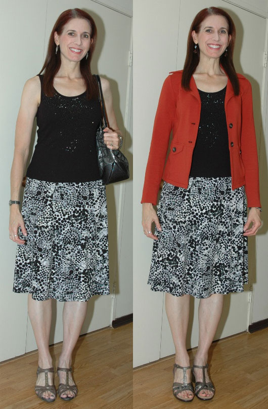 P333 Week 13 - Outfit #3 Two Versions (with jacket and different shoes)