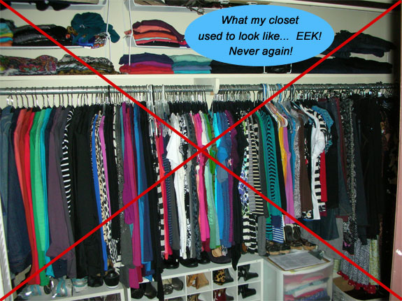 My January 2013 Closet