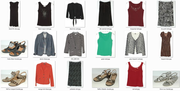 Summer 2013 wardrobe favorites