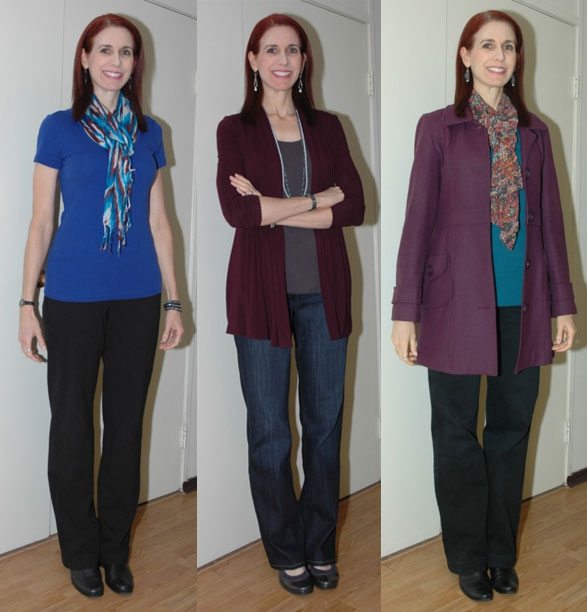 Project 333 Round Two Outfits 1-3