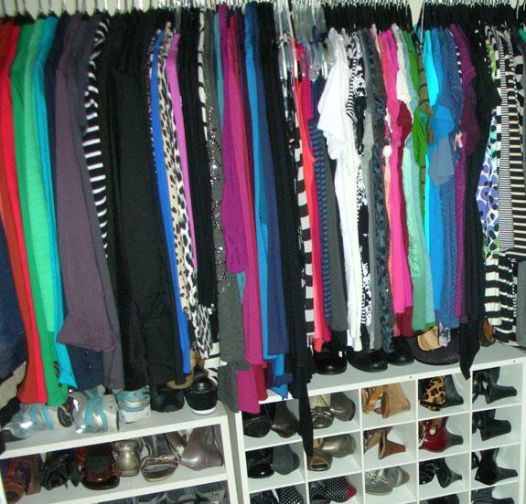 Overstuffed Closet