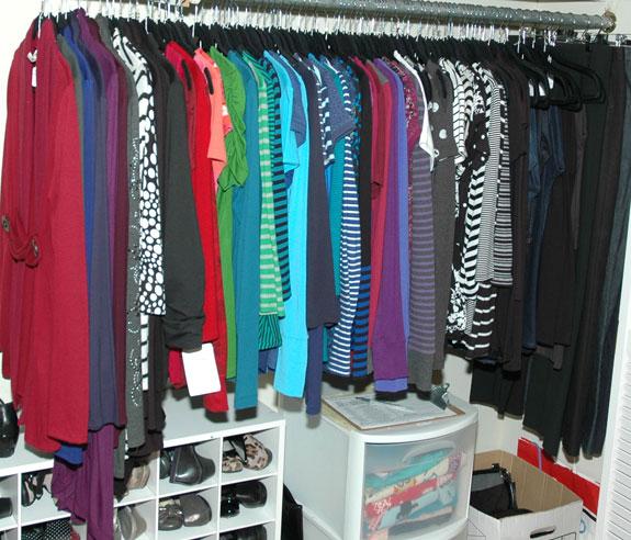 Pants Section Of Closet