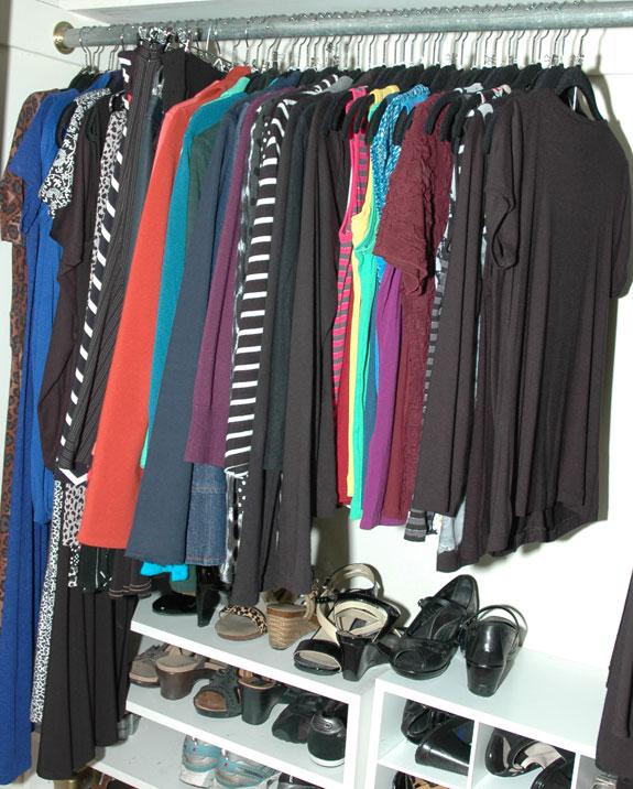 Skirts U0026 Dresses Closet Section