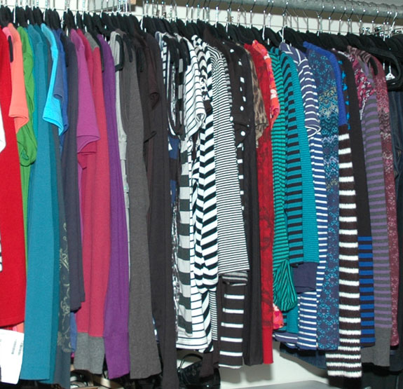 Tops - After Closet Reorganization