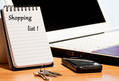 Shopping priorities list