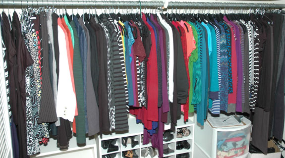 June 2014 Closet Photo