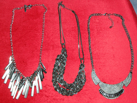 Statement necklaces