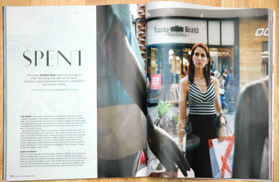 "Recovering Shopaholic in ""Real Simple"""