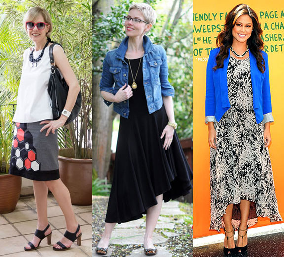 Style Inspiration - Skirts & Dresses
