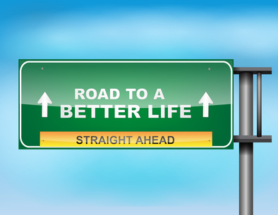 Road to a better life
