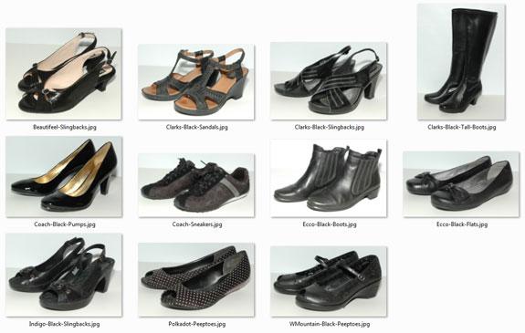 Black Shoe Benchwarmers