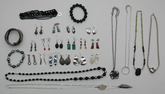 Purged Jewelry Pieces - October 2014