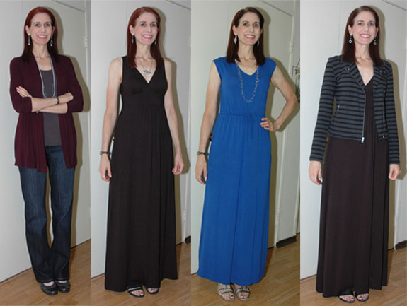 2014 Favorite Outfits - Jeans and Maxi Dresses