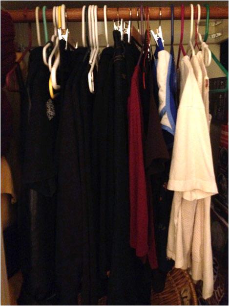 Chau Le's current closet
