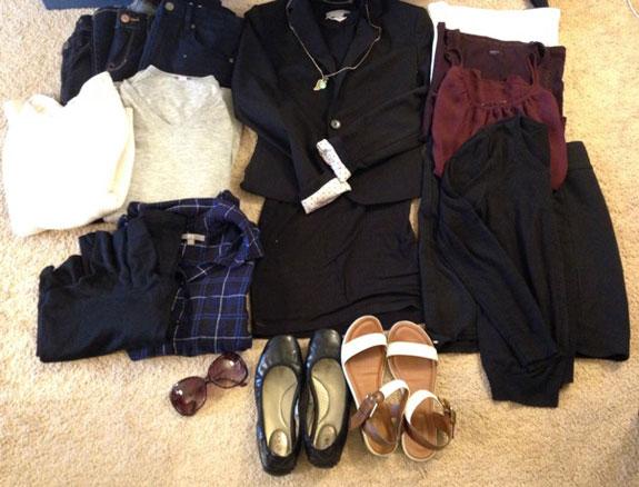 Chau Le's traveling wardrobe