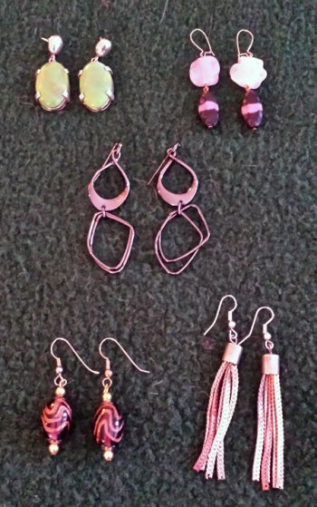 January 2015 - purged earrings