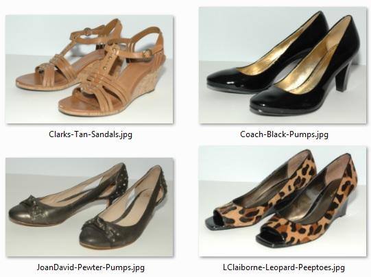 Shoes Purged - January 2015