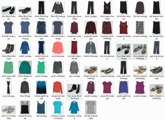 Items worn 5+ times in 2014