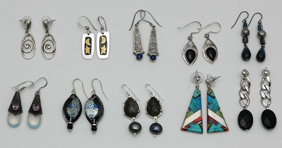 Earrings worn - January 2015