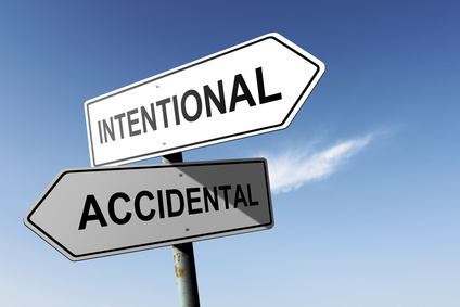 Intentional vs. Accidental