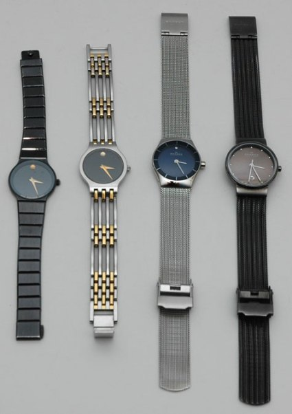 Watches worn - January 2015