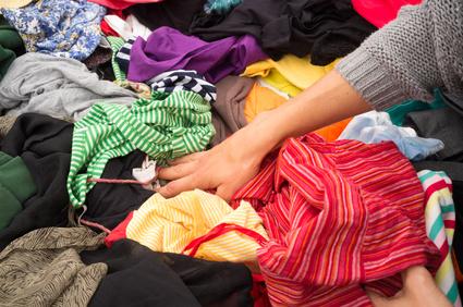 Dealing with closet cast-offs