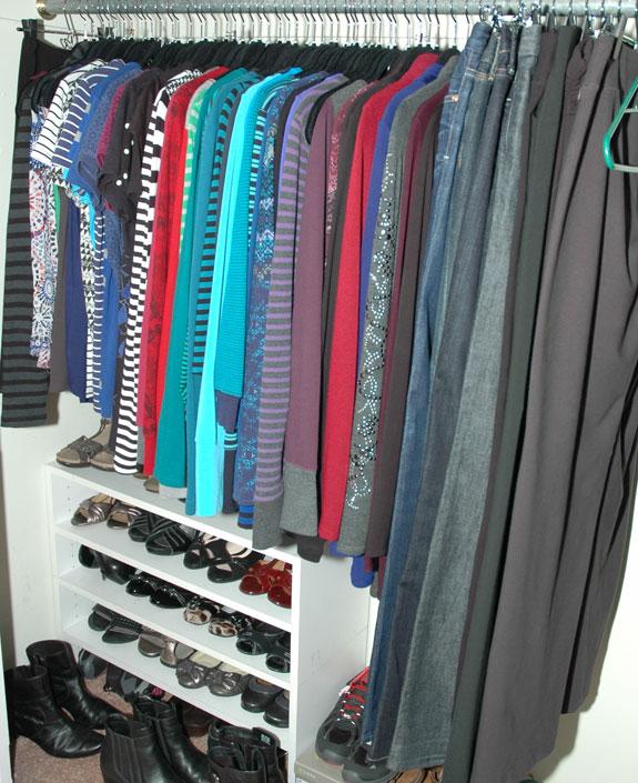 February 2015 working closet view