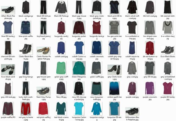 February 2015 -items worn