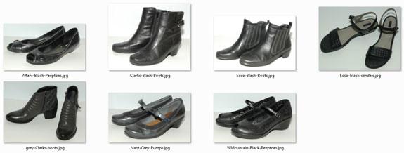 February 2015 working closet - shoes