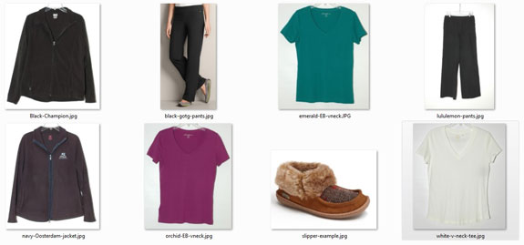 My Lounge Wear Examples