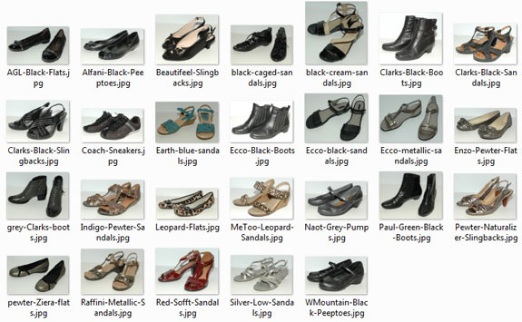 Shoes I Own - March 2015
