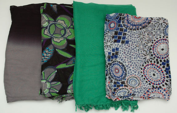 March 2015 working closet - the scarves