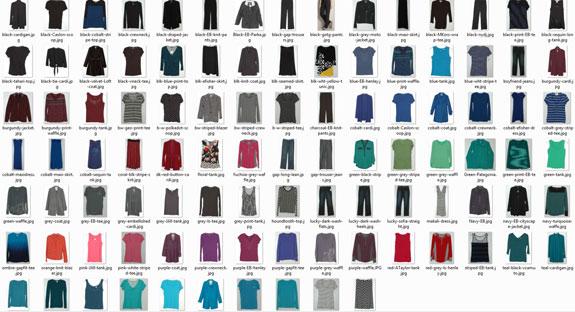April 15 - Working Closet Clothes