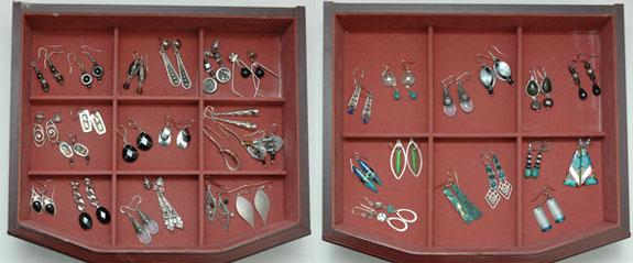April 2015 Working Closet - Earrings