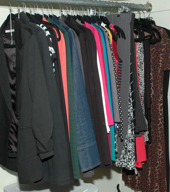 Unworn clothing pieces as of the end of April 2015
