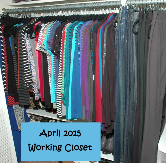 April 2015 Working Closet