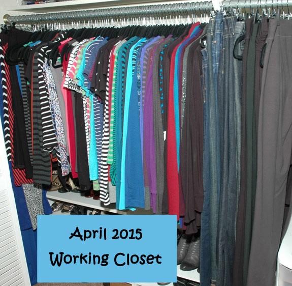 April 2015 Working Closet