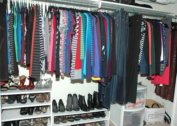 My Closet as of May 18, 2015